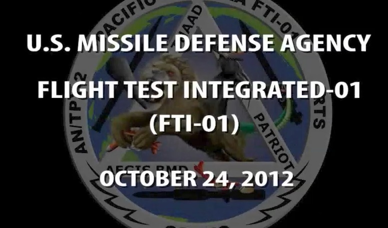 Missile Defense Agency Conducts Successful Test October 25th