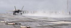 Photos of the F-35C Aboard the CVN 69