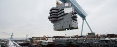 Some Pictures and Video of USS Gerald Ford (CVN 78)