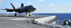 F-35C Launches Off USS Dwight D. Eisenhower