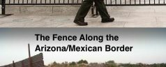 More Fencing at the WW2 Memorial than the Mexican Border